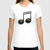 record T-shirts featuring Music Record by Romayne Robinson