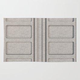 Concrete architectural elements Rug