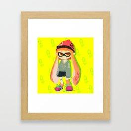 squid squid squid squid squid  Framed Art Print