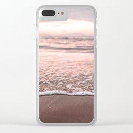 Beach detail Clear iPhone Case
