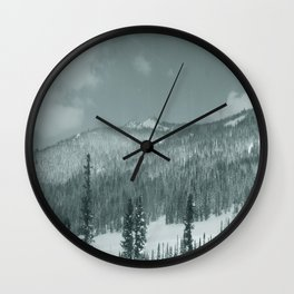 Winter day 28 Wall Clock