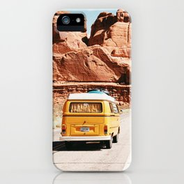 Van Life 4 / Utah iPhone Case