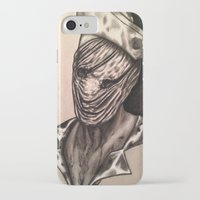 silent hill iPhone & iPod Cases featuring Silent Hill Nurse  by foulestgrunt187