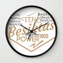 the Besiktas power 1903 Wall Clock