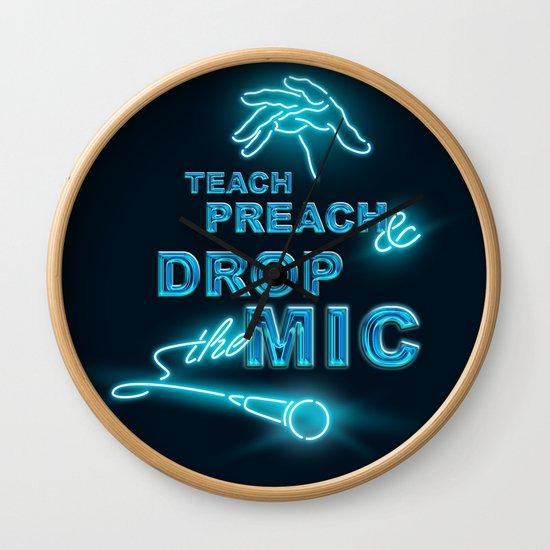 Teach Preach & Drop the Mic by veronikaneto