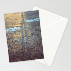 sundown shadow Stationery Cards
