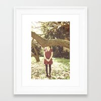 bands Framed Art Prints featuring Indie Bands by Fla'Fla'