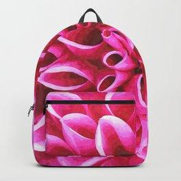 Dahlia Macro Illustration Backpack