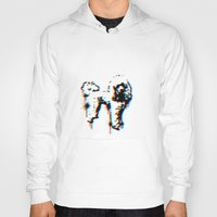 poodle Hoodies featuring poodle by gloriuos days