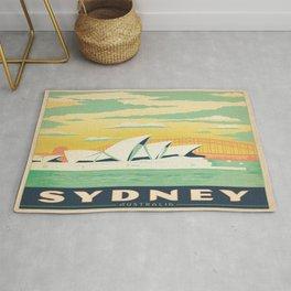 Vintage poster - Sydney Rug