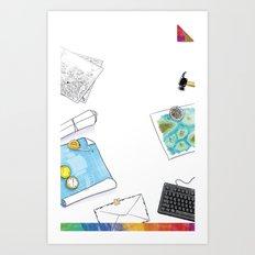 you're COLOR - Page 11 Art Print