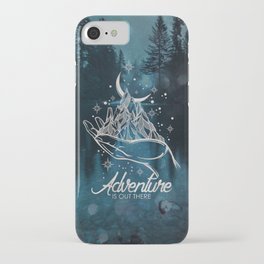 Adventure Is Out There Forest Lake Reflection - Nature Photography iPhone Case