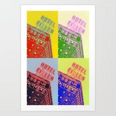 Finlen pop art Art Print