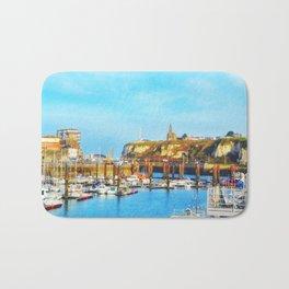 Dieppe Harbour Bath Mat