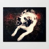 """mad max Canvas Prints featuring """"Mad Max"""" by Evan Mariah Pettit"""