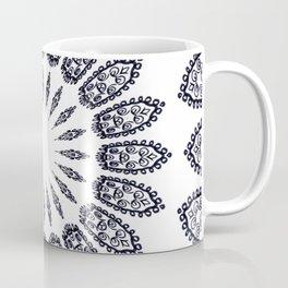 BLACK AND WHITE DOODLE MANDALA Coffee Mug