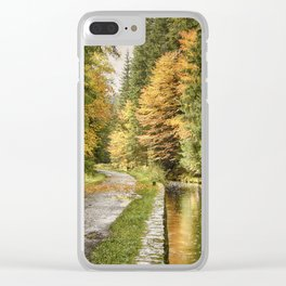 The colours of life IV Clear iPhone Case