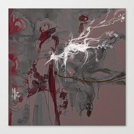 LOTUS - CRANE Canvas Print
