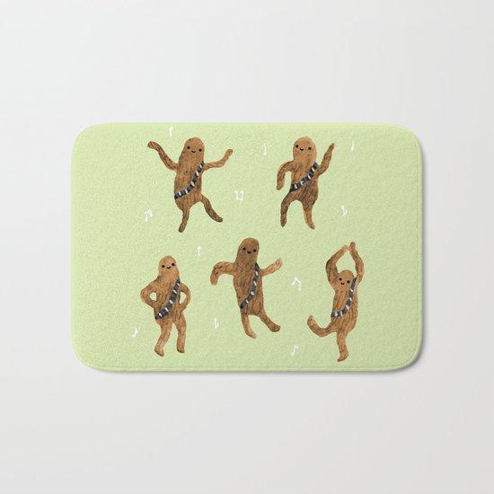 Wookie Dance Party Bath Mat