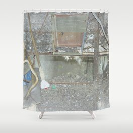 Abandoned Places Shower Curtain