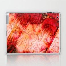 girl butterfly Laptop & iPad Skin