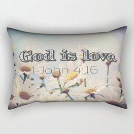 God is Love Rectangular Pillow