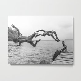 Growing Up in Paradise (Chocó -  Colombia) Metal Print