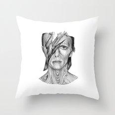 Wood dB Throw Pillow