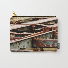Rusted Tracks Carry-All Pouch
