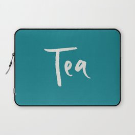 Teal Tea Laptop Sleeve