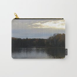Downeast Autumn Reflections of Scattered Illuminations Carry-All Pouch