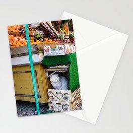 Le Chat du Marché Stationery Cards