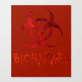 Biohazard symbol Canvas Print