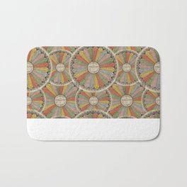 Multiplication Tables Bath Mat
