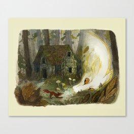 Take it back, fox Canvas Print