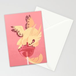 Dragonpop creamy death strawberry Stationery Cards
