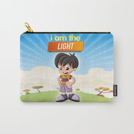 I am the Light of the world. Carry-All Pouch
