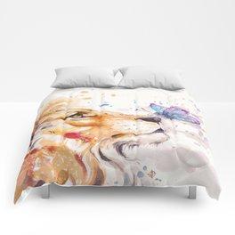 Finn's Lion Comforters
