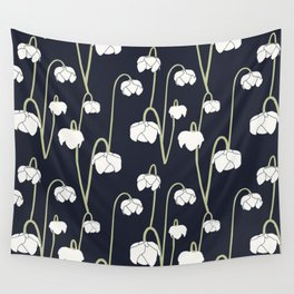 pitcher plant flower Wall Tapestry