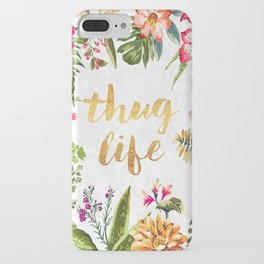 Thug Life - white version iPhone Case