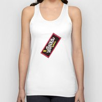 willy wonka Tank Tops featuring Wonka Chocolate Bar by ThreeBoys