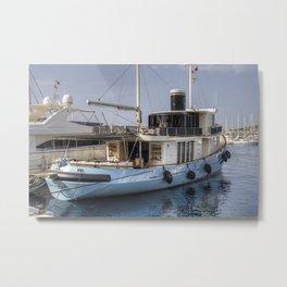 Lutteur Motor Yacht Metal Print