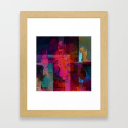 AFRO - CENTRIC COLOR Framed Art Print