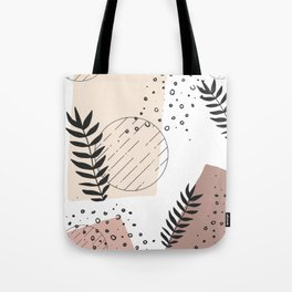 Minimalist Pattern Tote Bag