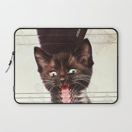 Slave To Kitty Laptop Sleeve