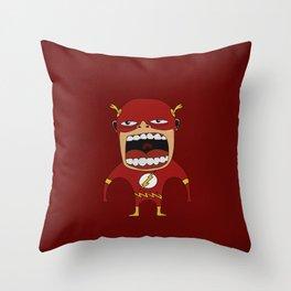Screaming Flash Throw Pillow