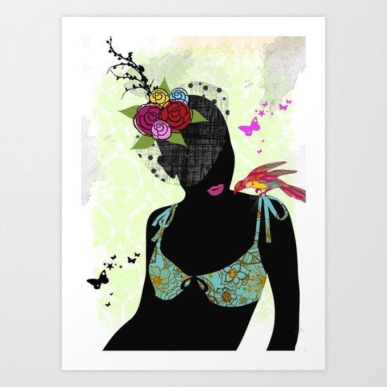 Alicia Art Print