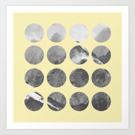 Quarter Quills 1 Art Print