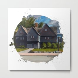 The Witch House by Kevin Kusiolek Metal Print