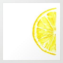 Tutti Frutti. Lemon. Art Print
